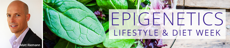 Epigenetics Lifestyle and Diet Week Header